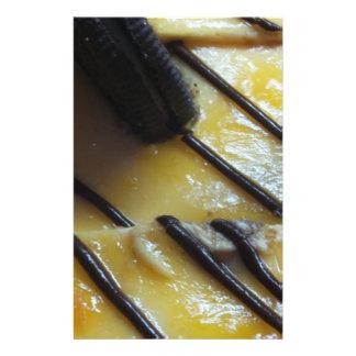 Torta dulce tarjetas informativas