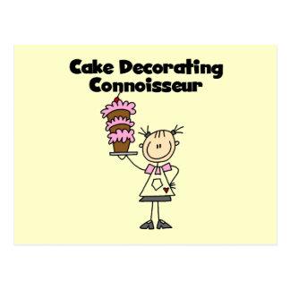 Torta femenina que adorna al perito postal