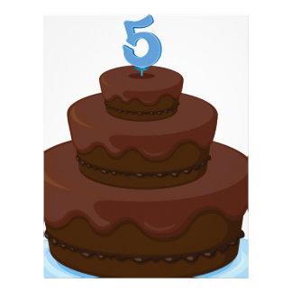 torta membretes personalizados