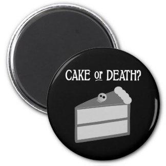 ¿Torta o muerte? Imán Redondo 5 Cm