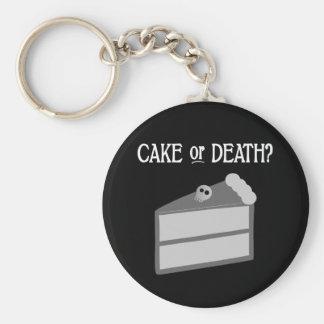 ¿Torta o muerte? Llavero Personalizado