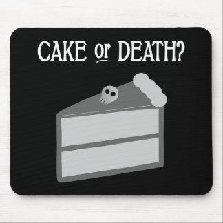 ¿Torta o muerte? Alfombrilla De Raton