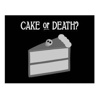 ¿Torta o muerte? Postales