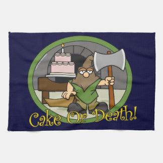 Torta o muerte toalla
