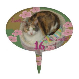 ¡Torta, primero de la magdalena! ¡Amante del gato! Decoraciones Para Tartas