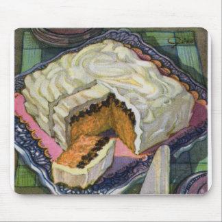Torta retra de la pasa de la especia de la torta d tapete de ratones