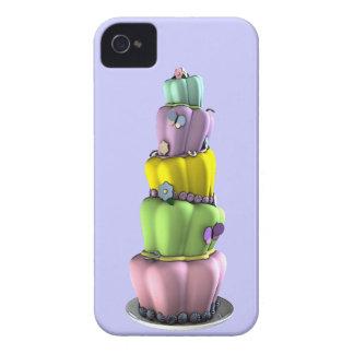 Torta revuelta en colores pastel caprichosa iPhone 4 fundas