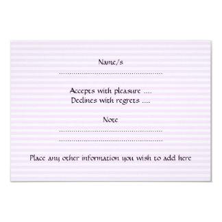 """Torta rosada espiral en rayas rosadas invitación 3.5"""" x 5"""""""