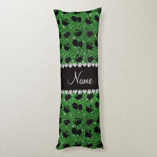 Torta verde conocida de los globos de las coronas almohada