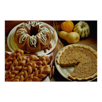 Torta y empanada de Halloween Impresiones