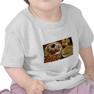 Torta y empanada de Halloween Camisetas