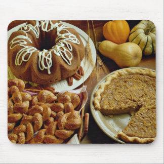 Torta y empanada de Halloween Tapetes De Ratones