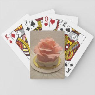 Torta y tarjetas Vien Rose Cartas De Póquer