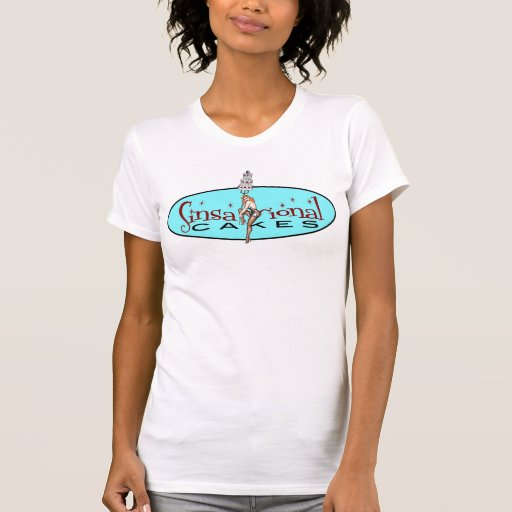 Tortas de Sinsational - logotipo t Camisetas