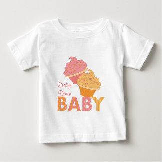Tortas del bebé camisetas