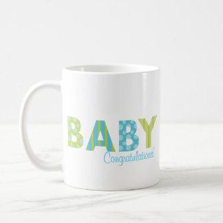 Tortas del bebé taza clásica