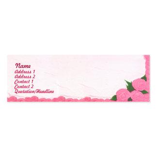 Tortas - flacas tarjetas de visita mini