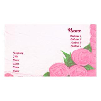 Tortas - negocio tarjetas de visita
