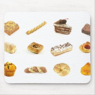 Tortas y pasteles cocidos tapete de ratones