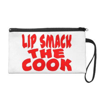 Tortazo del labio el cocinero
