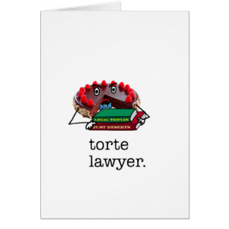 Torte Lawyer: cards
