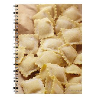 tortellini spiral notebook