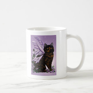 Tortie Fairy Cat Coffee Mug