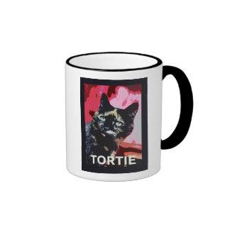 Tortie Ringer Mug