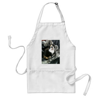 TORTIE THE OFFICE CAT ADULT APRON
