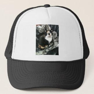 TORTIE THE OFFICE CAT TRUCKER HAT