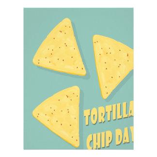 Tortilla Chip Day - Appreciation Day Letterhead