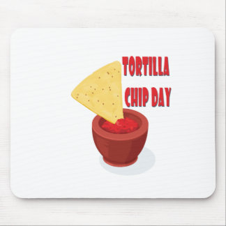 Tortilla Chip Day - Appreciation Day Mouse Pad