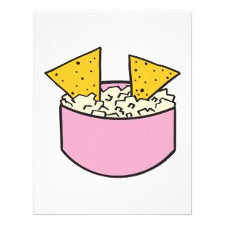 tortilla chips in dip custom invitation