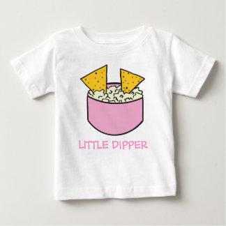 tortilla chips in dip LITTLE DIPPER Baby T-Shirt