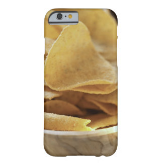 Tortilla chips in wooden bowl iPhone 6 case
