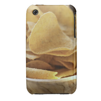Tortilla chips in wooden bowl iPhone 3 covers