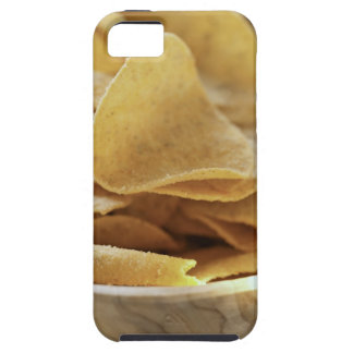 Tortilla chips in wooden bowl iPhone SE/5/5s case
