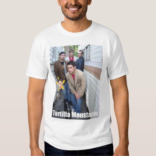 Tortilla Moustache-Group T Shirt