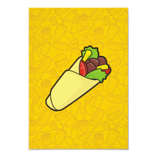 Tortilla Sandwich Wrap Card