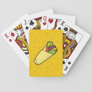 Tortilla Sandwich Wrap Playing Cards