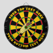 Tortilla Wrap Dartboard with Custom Text