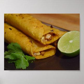 Tortillas Flautas Póster