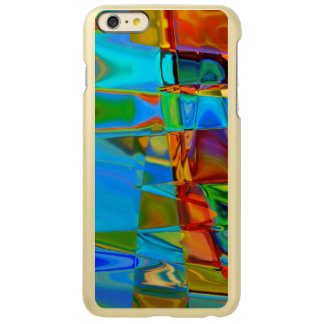 Tortise Shell Blue Shine iPhone 6 Plus Case