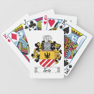 Torto Family Crest Card Deck