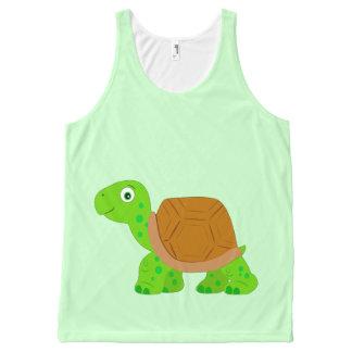 Tortoise All-Over-Print Tank Top