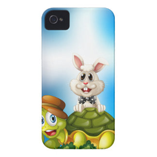 Tortoise and hare iPhone 4 cover