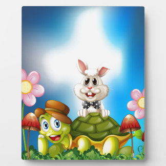 Tortoise and hare plaque