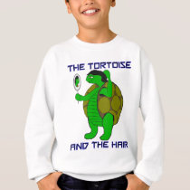 Tortoise and the Hair Kids' Sweatshirt