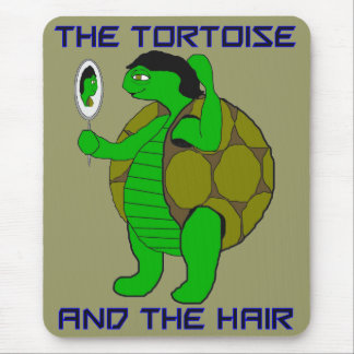 Tortoise and the Hair Mousepsd Mouse Pad