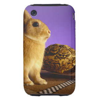 Tortoise and the hare iPhone 3 tough cover
